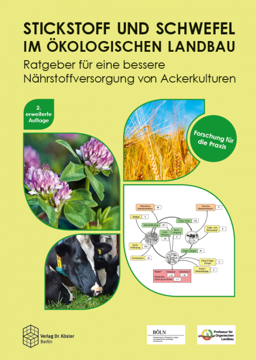 Coverbild - Leithold u.a. - Stickstoff und Schwefel im ökologischen Landbau - Verlag Dr. Köster - ISBN 978-3-89574-882-0