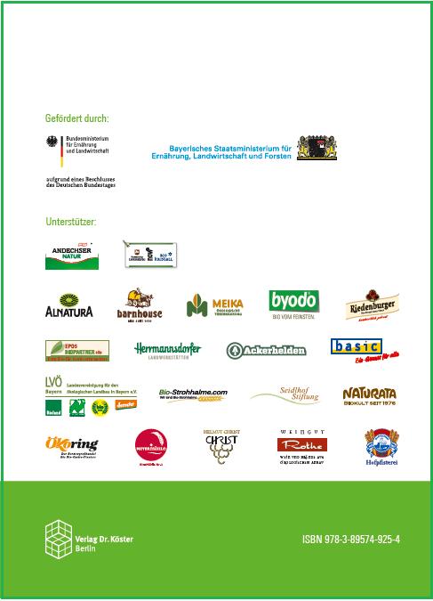 Coverrückseite - Beiträge zur 14. Wissenschaftstagung Ökologischer Landbau