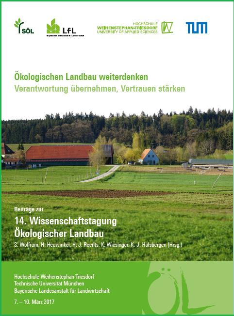 Coverbild - Beiträge zur 14. Wissenschaftstagung Ökologischer Landbau - ISBN 978-3-89574-925-4 - Verlag Dr. Köster