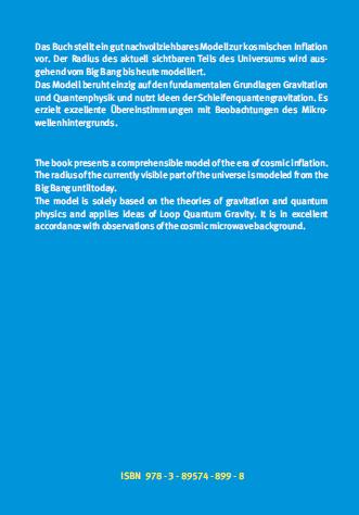 Coverrückseite - Carmesin - Vom Big Bang bis heute mit Gravitation - Verlag Dr. Köster - ISBN 978-3-89574-899-8