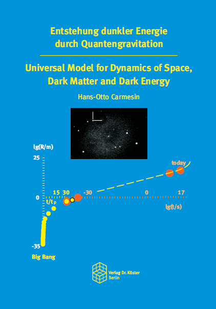 Coverbild - Carmesin - Entstehung dunkler Energie durch Quantengravitation - Verlag Dr. Köster - ISBN 978-3-89574-944-5