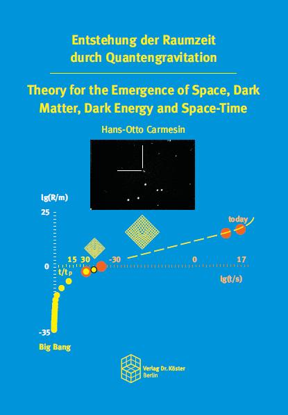 Coverbild - Carmesin - Entstehung der Raumzeit durch Quantengravitation - Verlag Dr. Köster - ISBN 978-3-89574-951-3