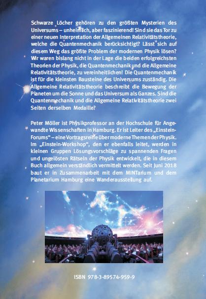 Coverrückseite - Möller - Relativitätstheorie, Quantenmechanik und Schwarze Löcher - Verlag Dr. Köster - ISBN 978-3-89574-959-9