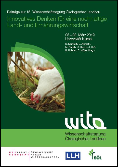 Coverbild - Beiträge zur 15. Wissenschaftstagung Ökologischer Landbau 2019 - Verlag Dr. Köster - ISBN 978-3-89574-955-1
