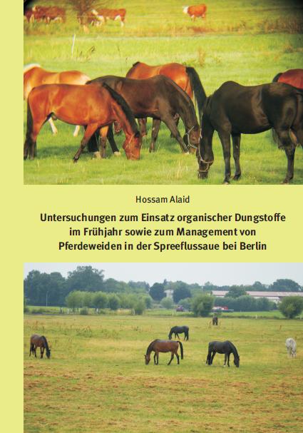 Cover - Alaid - Management von Pferdeweiden in der Spreeflussaue bei Berlin - Verlag Dr. Köster - ISBN 978-3-89574-957-5