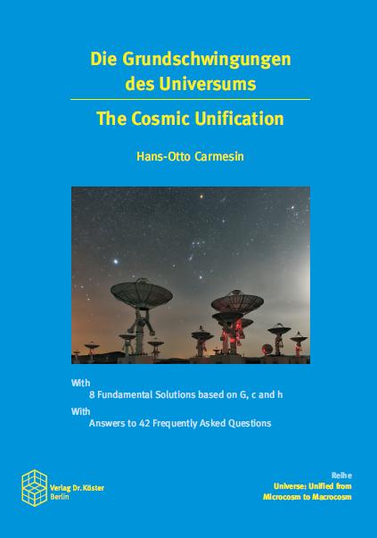 Cover - Carmesin - Die Grundschwingungen des Universums - Verlag Dr. Köster - ISBN 978-3-89574-961-2