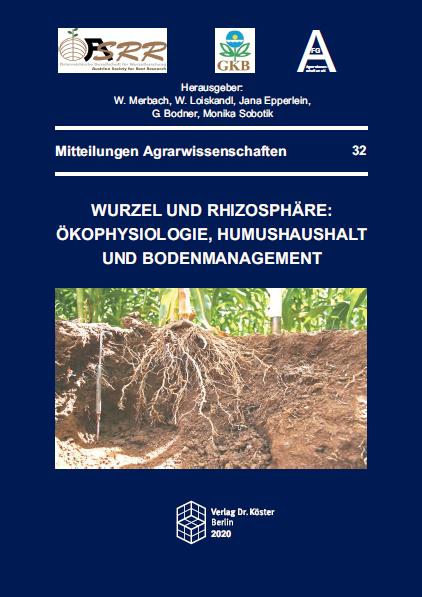 Cover - Merbach, Loiskandl u.a. (Hrsg.) - Wurzel und Rhizosphäre - Verlag Dr. Köster - ISBN 978-3-89574-972-8
