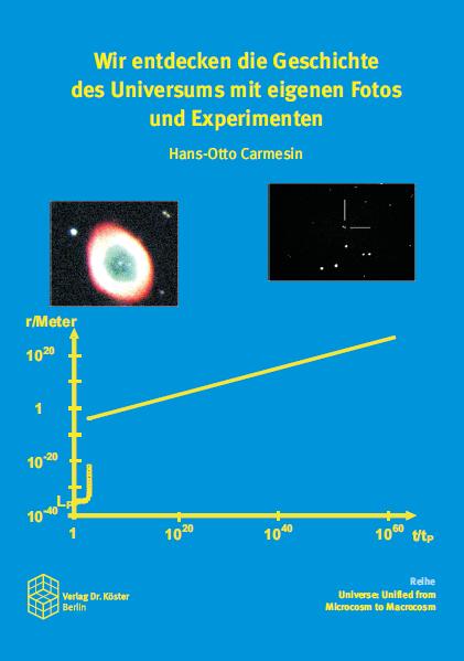Cover - Carmesin - Wir entdecken die Geschichte des Universums - Verlag Dr. Köster - ISBN 978-3-89574-973-5